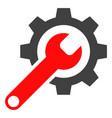 repair tools flat icon symbol vector image
