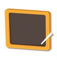 isolated of black board - vector image