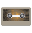 abstract cassette vector image vector image