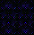 abstract square pattern background - dark blue vector image vector image