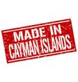 made in cayman islands stamp vector image vector image
