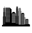 new york cityscape icon vector image vector image