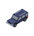 offroad car isometric 3d element vector image