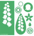 Lily of the valley vector image