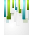 Abstract corporate stripes background vector image vector image