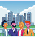 business executive people vector image vector image