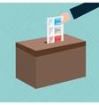 elections icon design vector image vector image