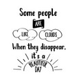 funny hand drawn quote about people vector image vector image