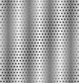 Perforated metallic background vector image vector image