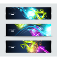 Set of banners and abstract headers vector | Price: 1 Credit (USD $1)