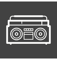 Casette Player vector image