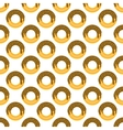 Donut pattern seamless vector image vector image