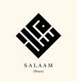 kufi calligraphy salaam kufic is oldest