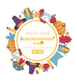 thanksgiving day promotional banner vector image