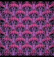 abstract pattern tangled lines pink and purple vector image