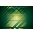Bright green hi-tech background vector image vector image