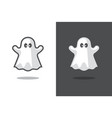 cute ghost icon vector image