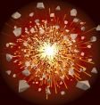 explode vector image vector image