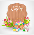 happy easter collection vector image vector image