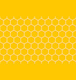honeycomb seamless pattern geometric hexagons vector image vector image