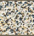 irregular abstract geometric pattern vector image vector image