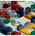 Isometric Graph vector image vector image