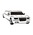 limousines logo design template vector image