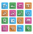 Modern Flat Icons Vol 2 vector image vector image