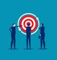 remarketing retargeting business target business vector image vector image
