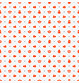 seamless pattern on valentines day texture vector image vector image