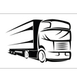 Truck symbol vector image vector image