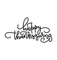 typography greeting card - happy vector image