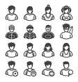 Sport and Activity People Icons vector image