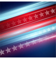American Independence Day striped red and vector image vector image