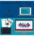 banner web design vector image vector image