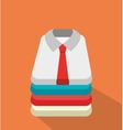 Businessmen shirts clothes graphic vector image vector image
