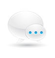 chat icon with white background vector image