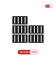 containers icon vector image vector image