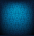 dark blue pattern vector image