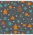 Geometric scandinavian seamless pattern Abstract vector image vector image