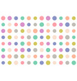 pattern with grunge dots vector image vector image
