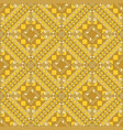 seamless pattern with geometrical patterns vector image