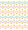 tropical pattern cartoon vector image