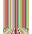 Colorful Striped Background5 vector image vector image