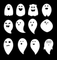 Cute ghosts vector image vector image