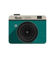 Hipster photo camera vector image vector image