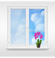 home window design concept vector image