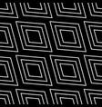 seamless monochrome background squarish pattern vector image vector image