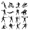 Sport Sketch People Set vector image vector image