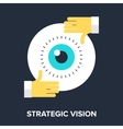 Strategic Vision vector image vector image